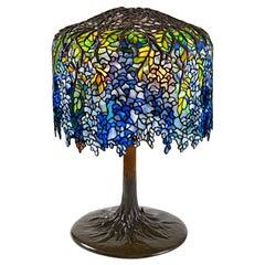 "Tiffany Studios New York ""Wisteria"" Table Lamp"