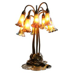 Tiffany Studios Ten-Light Lily Lamp