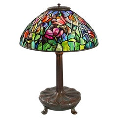 "Tiffany Studios ""Tulip"" Table Lamp"