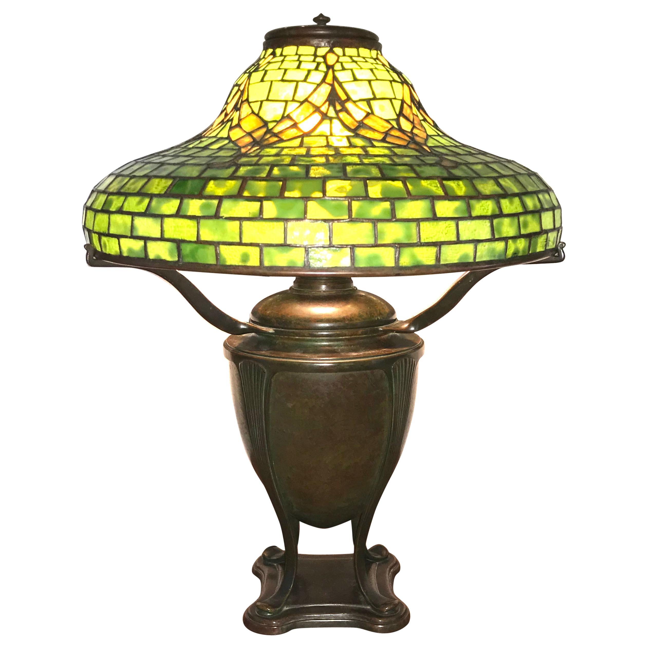 "Tiffany Studios ""Tyler"" Table Lamp"