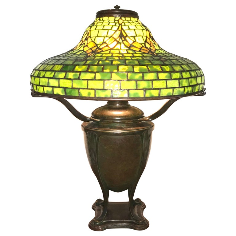 "Tiffany Studios ""Tyler"" Table Lamp For Sale"