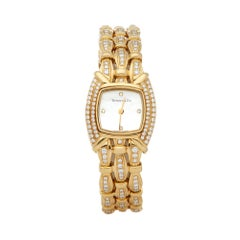 Tiffany & Co. Tesoro Diamond Yellow Gold L0133