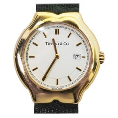 Tiffany & Co. Tesoro Ladies Gold Quartz Wristwatch