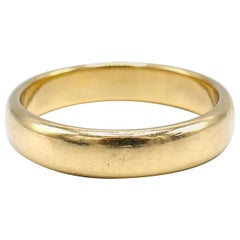 Tiffany & Co. Vintage Yellow Gold Wedding Band