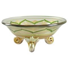 Tiffay Studios Bowl with Byzantine Decoration