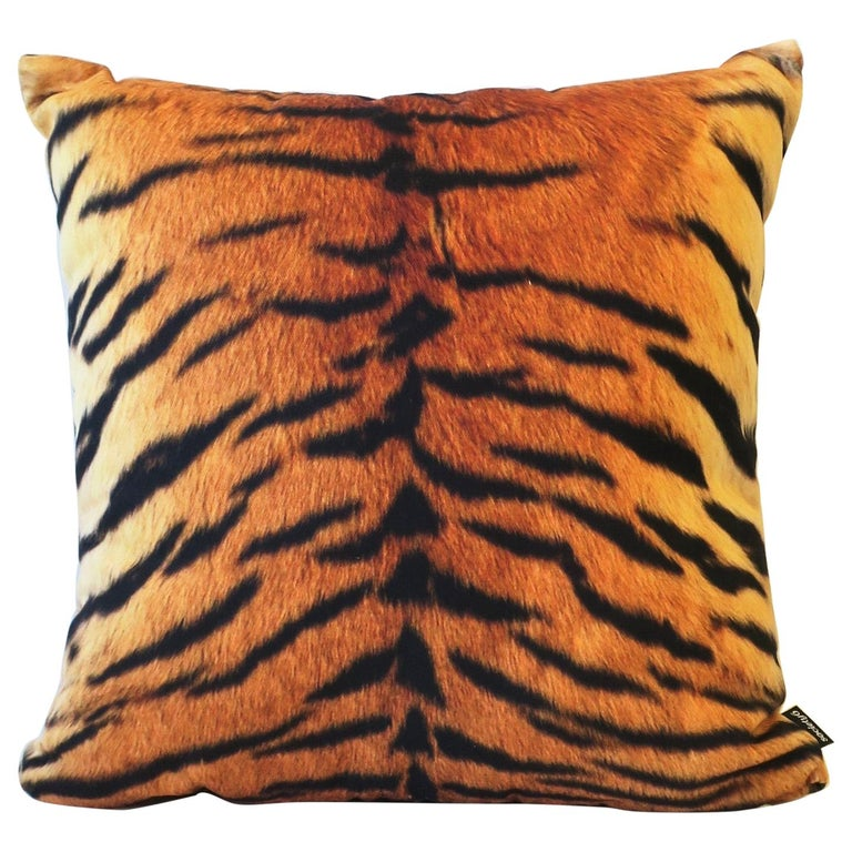 Tiger Throw Pillow For Sale