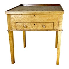 Tiger's Eye Maple Desk/Lectern/Hostess Stand, circa 1860