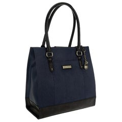 Tignanello A269250 Ink Oversized Pebble Leather Shopper Bag
