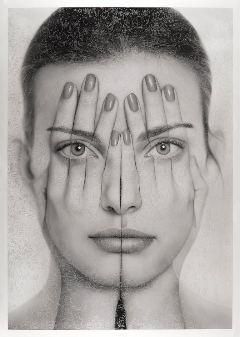 DS Mirror - Mixed Media Art by Tigran Tsitoghdzyan