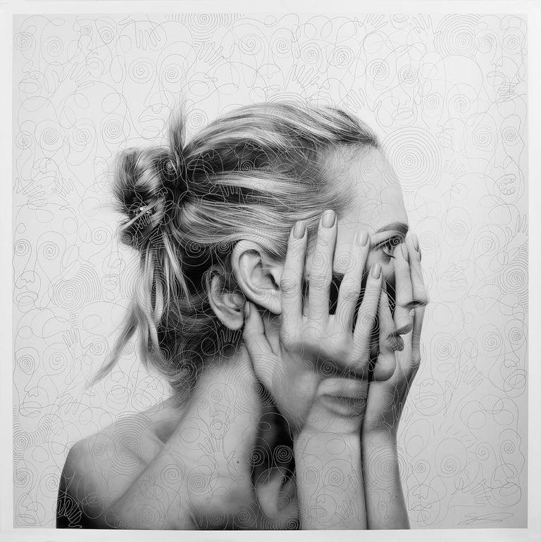 Mirror Metamorphosis - Mixed Media Art by Tigran Tsitoghdzyan