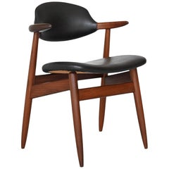 Tijsseling Cowhorn Chair Propos Hulmefa, The Netherlands, 1960