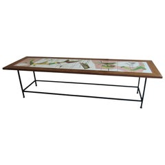 Tile Top Table, Italy, 1960s