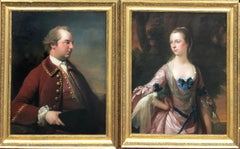 Portrait of John and Elizabeth Hartley