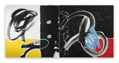Diptych #5829 (Abstract Painting)