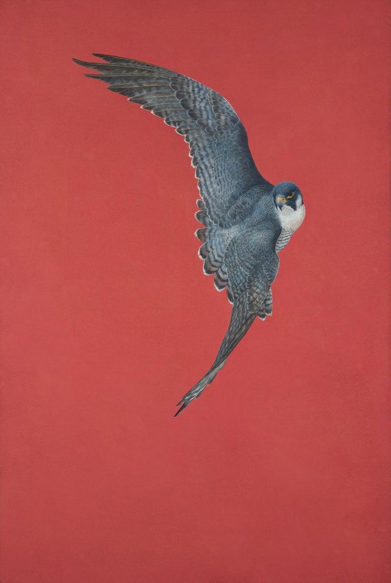 Tim Hayward Figurative Painting - Soar - Red
