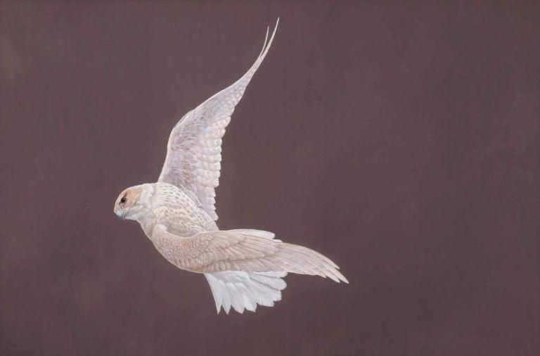 Tim Hayward Animal Painting - Twist - Golden Rose