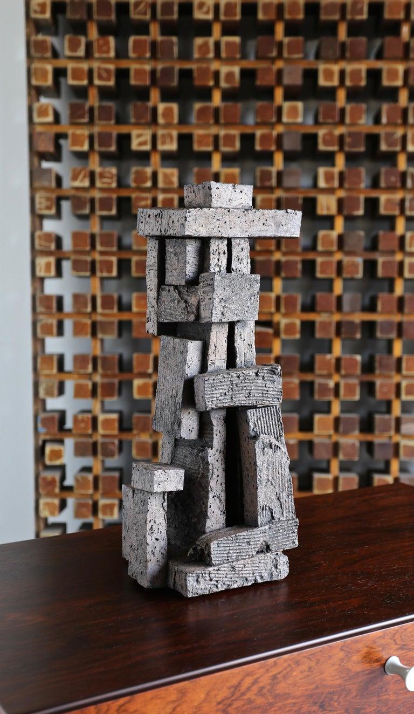 Organic Modern Tim Keenan Ceramic Sculpture For Sale