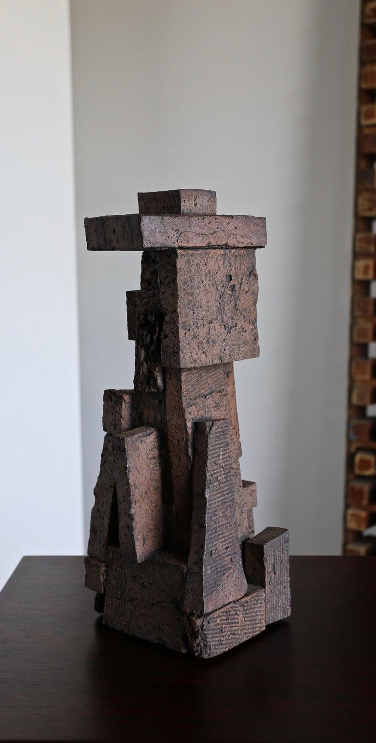 American Tim Keenan Ceramic Sculpture For Sale