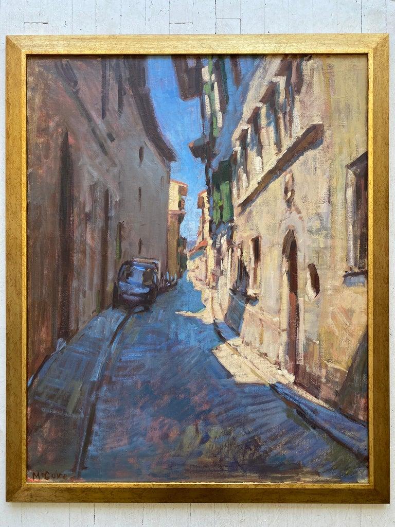 Borgo Pinti - Painting by Tim McGuire