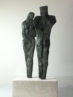 """""""Rapport 1"""" Original Contemporary Cast Bronze"""