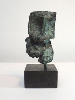 Sentinel II,  Contemporary Cast Bronze Sculpture
