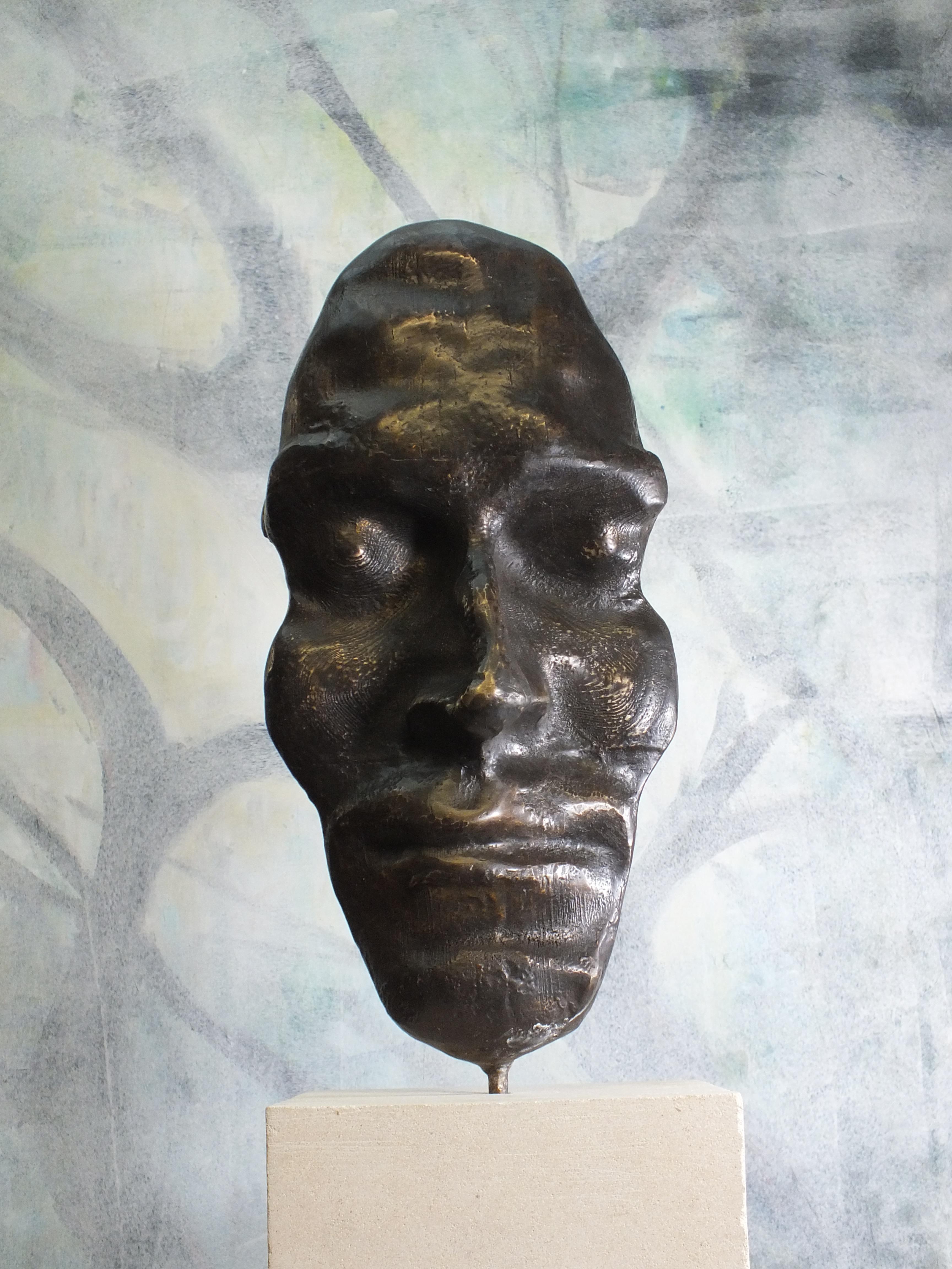 """Witness"".  Contemporary Cast Bronze Sculpture"