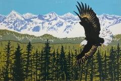 Tim Southall, The Sea Eagle, Limited edition animal print