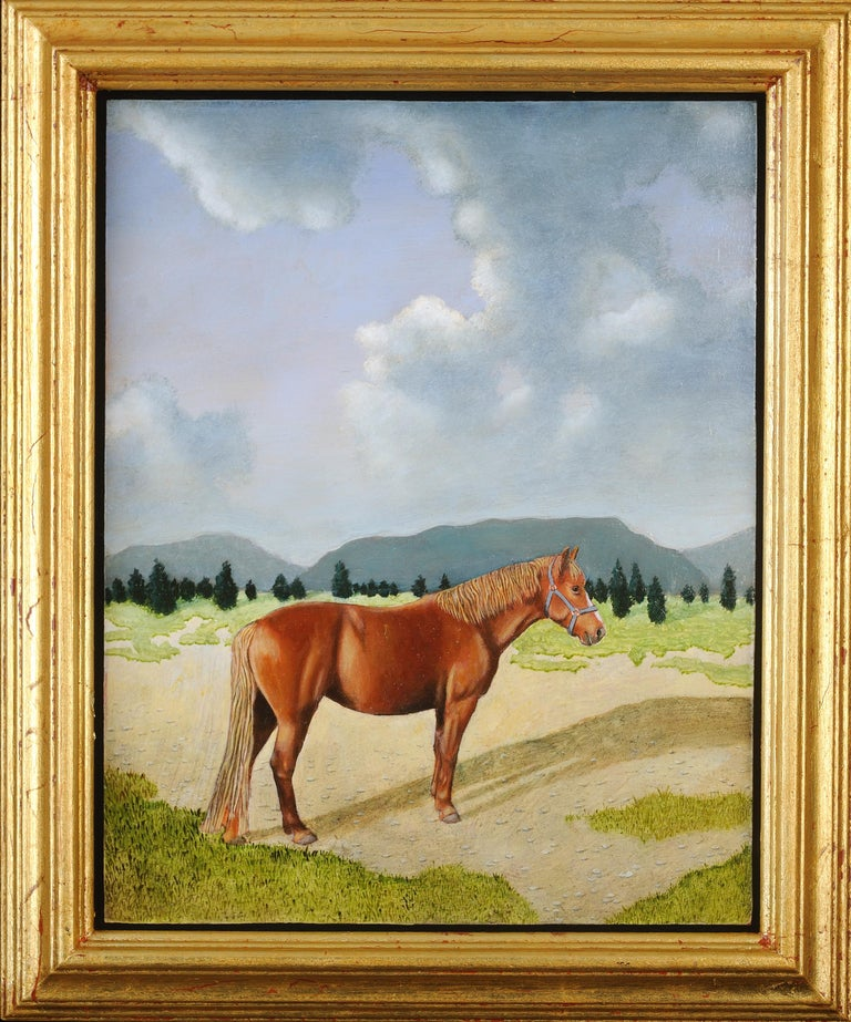 Horse - Painting by Tim Vermeulen