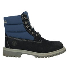 Timberland Woman Ankle boots Navy Leather UK 3.5
