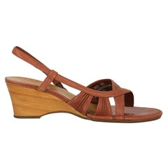 Timberland Women  Sandals Brown Leather US 8.5