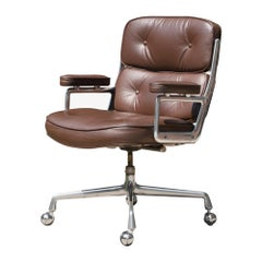 """Time-Life"" Executive Chair in Leather by Charles & Ray Eames for Herman Miller"