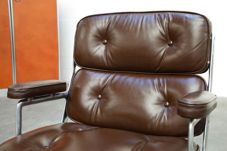 Time Life Executive Desk Chairs by Charles Eames for Herman Miller, 1977, Signed 3