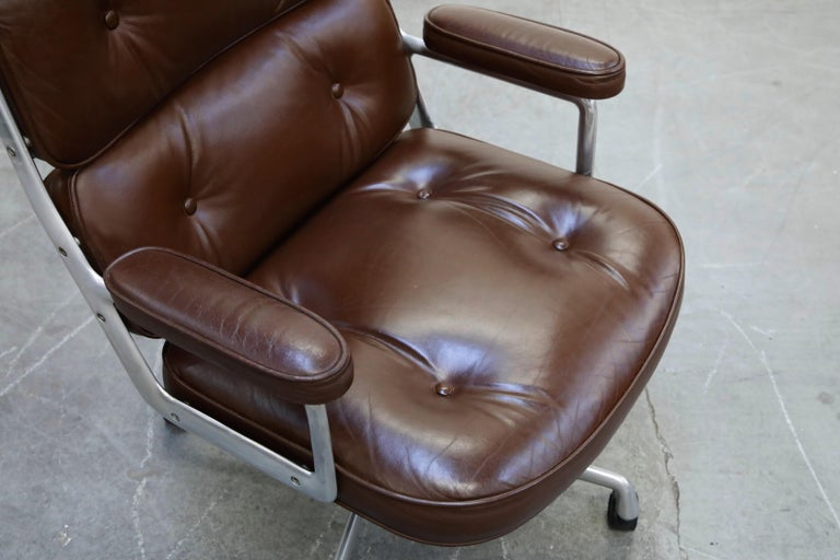 Time Life Executive Desk Chairs by Charles Eames for Herman Miller, 1977, Signed 6