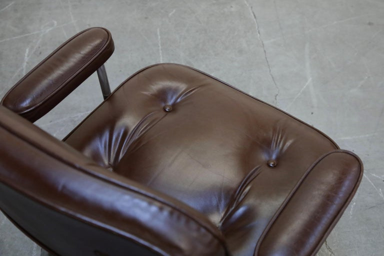 Time Life Executive Desk Chairs by Charles Eames for Herman Miller, 1977, Signed 10