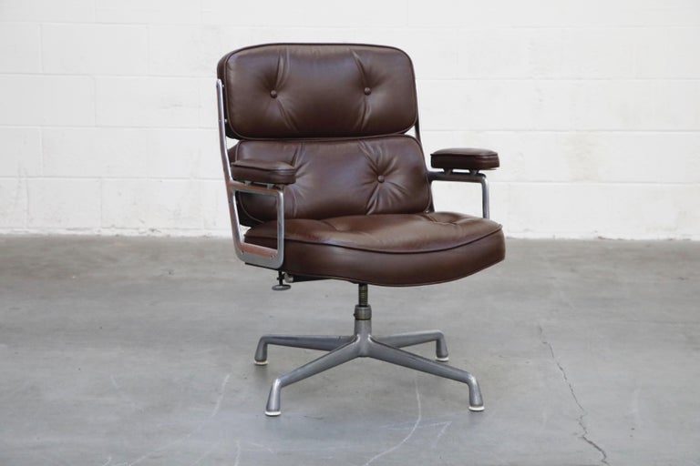 Time Life Executive Desk Chairs by Charles Eames for Herman Miller, 1977, Signed 13