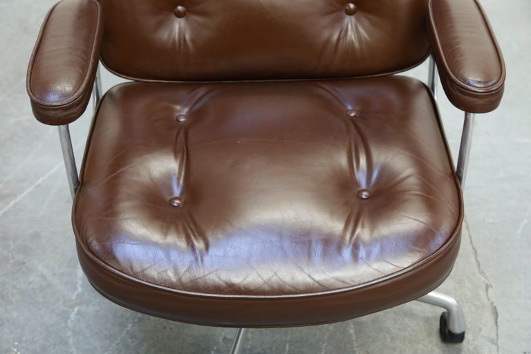 Time Life Executive Desk Chairs by Charles Eames for Herman Miller, 1977, Signed 2