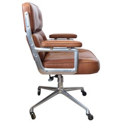 Time Life Executive Leather Chair by Eames for Herman Miller
