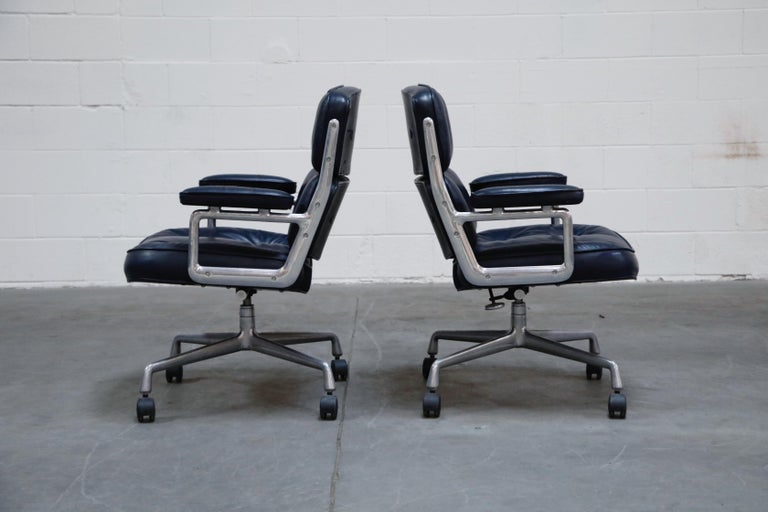 American 'Time Life' Executive Office Chairs by Charles Eames for Herman Miller, Signed For Sale