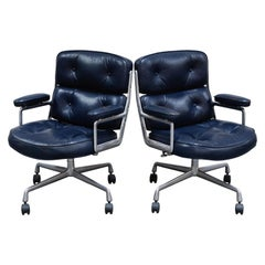 'Time Life' Executive Office Chairs by Charles Eames for Herman Miller, Signed