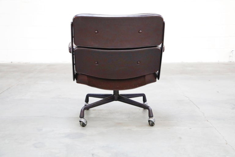 Time Life 'Lobby' Desk Chair by Charles and Ray Eames for Herman Miller, Signed For Sale 5