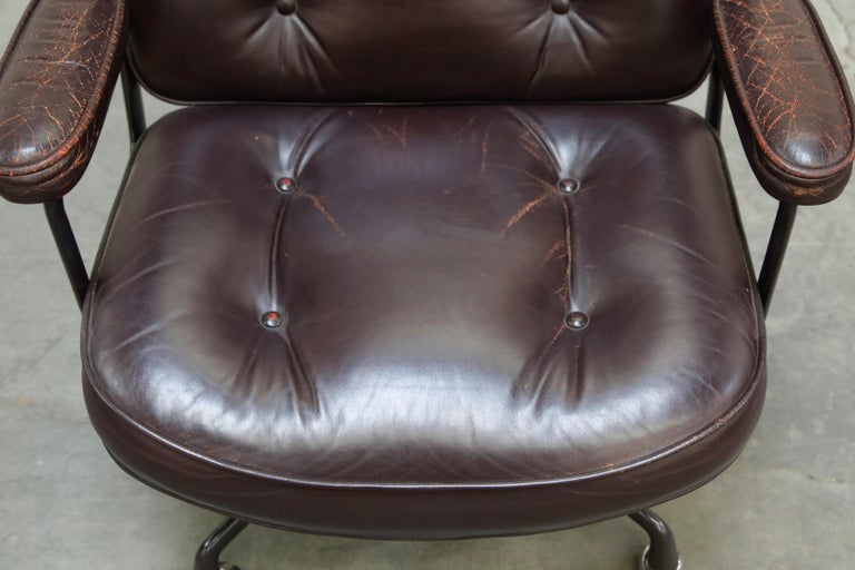 Time Life 'Lobby' Desk Chair by Charles and Ray Eames for Herman Miller, Signed For Sale 7
