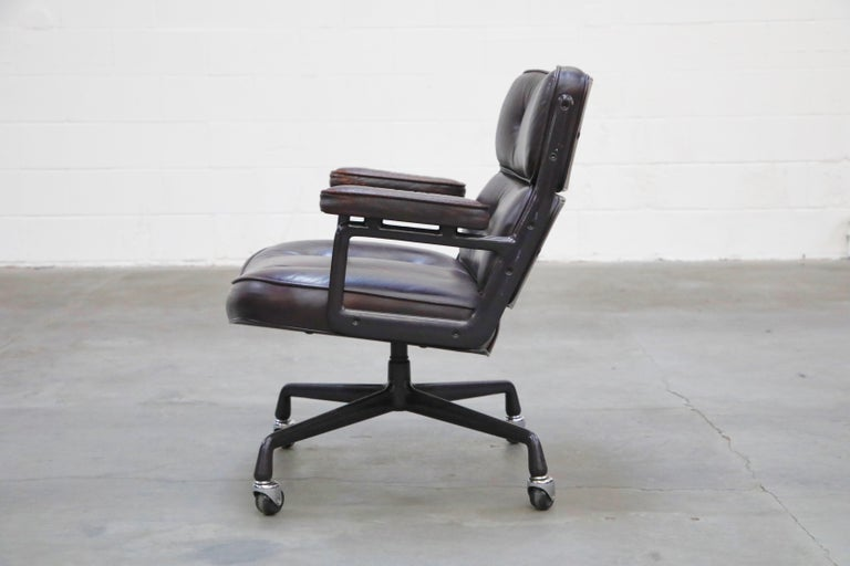 Time Life 'Lobby' Desk Chair by Charles and Ray Eames for Herman Miller, Signed For Sale 2