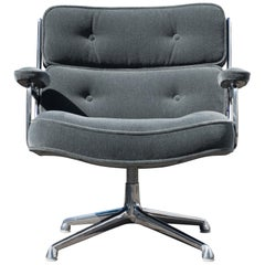Time Life Lobby Lounge Chair in Mohair, Charles and Ray Eames for Herman Miller