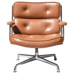 Time-Life Lounge Chair in Leather by Charles & Ray Eames for Herman Miller