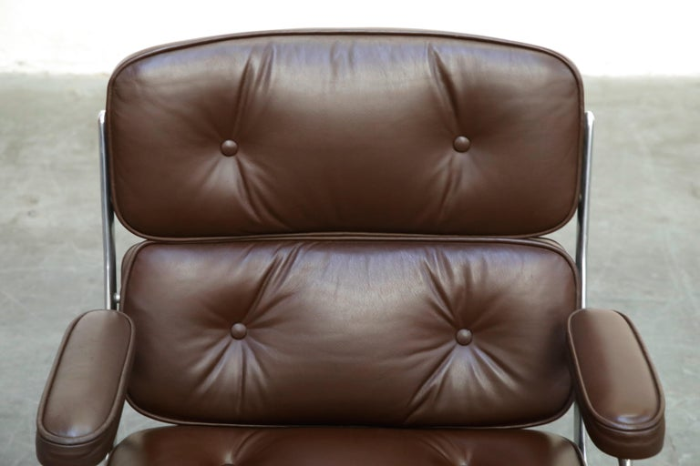 Time Life Swivel Lounge Chairs by Charles Eames for Herman Miller, 1977, Signed For Sale 1