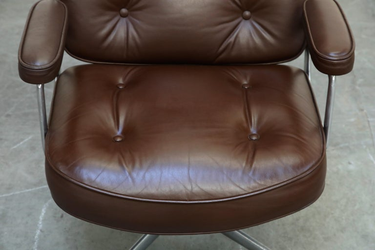 Time Life Swivel Lounge Chairs by Charles Eames for Herman Miller, 1977, Signed For Sale 2