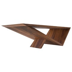 Time/Space Portal Table, Wood Coffee Table. a Collection by Neal Aronowitz