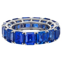 Timeless Sapphire Eternity Band