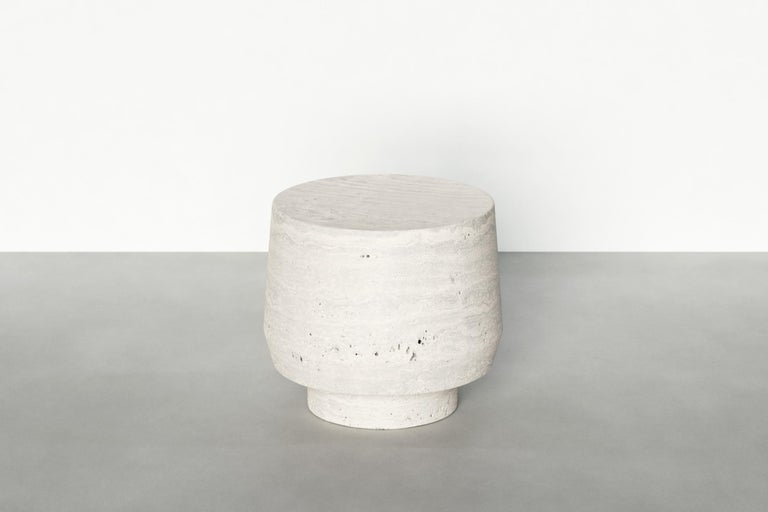 Contemporary Timeless Side Table I by Maria Osminina, Limited Edition For Sale