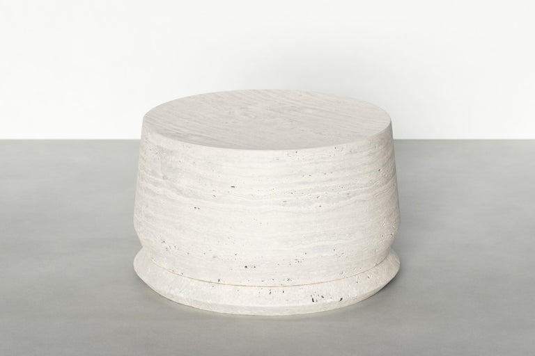 Timeless Side Table I by Maria Osminina, Limited Edition For Sale 1